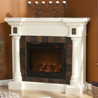 Clark Electric Fireplace   Home Entertainment Centers