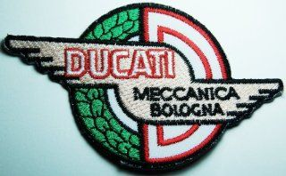 Ducati patches 11x7 cm Motorcycle patches biker patches Embroidered Iron on Patch: