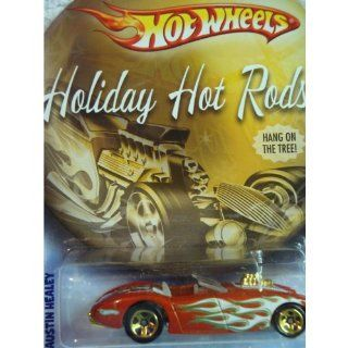 Hot Wheels Holiday Hot Rods Series Austin Healey Red With Flames Detailed Diecast 164 Scale Toys & Games