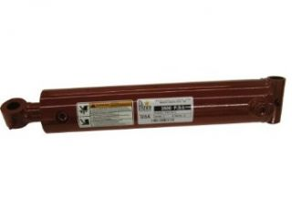 """Prince PMC 5636 Double Acting Welded Hydraulic Cylinder, Crosstube Mounting, Chrome Finish, Cast Iron, 4"""" Bore, 36"""" Stroke, 2"""" Rod Diameter, 1/2"""" Thread, 1/2"""" NPTF Port Industrial & Scientific"""