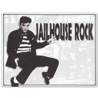 "Tin Sign ""Elvis Presley   Jailhouse Rock"", 16x13   Decorative Plaques"