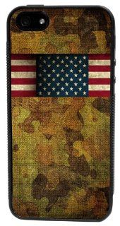 CellPowerCasesTM Willie's American Flag Bandana with Camo Duck Dynasty �iPhone 5 Case   Fits iPhone 5 & iPhone 5S: Cell Phones & Accessories