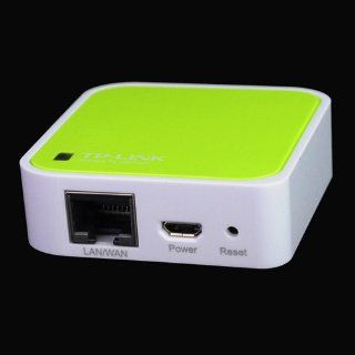 TP link TL WR702N 150M 802.11n Wifi Wireless Mini Router   Light Green Computers & Accessories