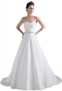 GEORGE BRIDE Plus Size Mermaid Lace Over Satin Wedding Dress With Beaded Waist at  Women�s Clothing store: