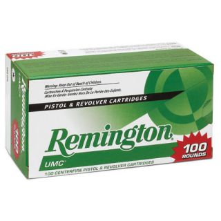 Remington UMC Handgun Ammo 100 Round Value Pack 9mm Luger 115 gr. FMJ 725322