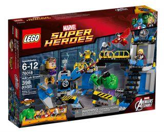 LEGO� Marvel Super Heroes Hulk Lab Smash