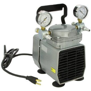 Gast DOA P704A AA DOA Lab Model Oilless Diaphragm Pump, Corrosion Resistant: Industrial Diaphragm Pumps: Industrial & Scientific