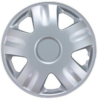 "Drive Accessories KT1005 14S/L 14"" Silver ABS Plastic Wheel Cover, (Set of 4): Automotive"