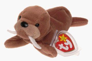 TY Beanie Baby   TUSK the Walrus (4th Gen hang tag) Toys & Games