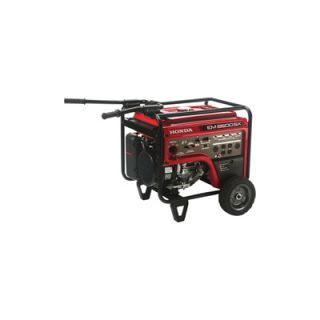Honda EM6500 iAVR Series Generator with Electric Start — 6500 Surge Watts, 5500 Rated Watts, CARB-Compliant, Model# EM6500SXK2AT  Portable Generators