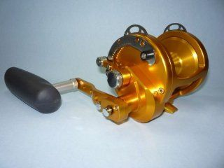 Avet HXW 5/2 Raptor Conventional Reel Gold  Offshore Fishing Reels  Sports & Outdoors
