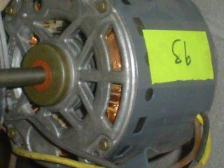 Motor General Electric 5KCP39JG F737AS 460V, 1PH, 60Hz HP 0.5 RPM 1075   Electric Fan Motors