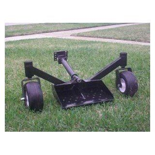Mower Sulky swivel Wheel Sulky for Exmark, Scag, Bobcat, Toro, Gravely, and Many more : Lawn Mower Accessories : Patio, Lawn & Garden