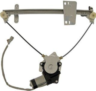 Dorman 741 744 Rear Driver Side Replacement Power Window Regulator with Motor for Honda Civic Automotive