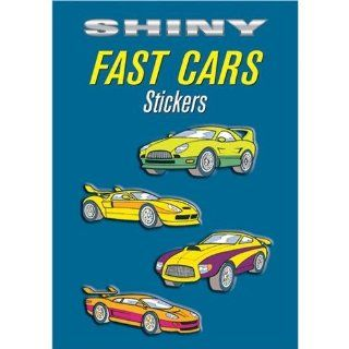 Dover Publications Shiny Fast Cars Stickers   Childrens Decorative Stickers