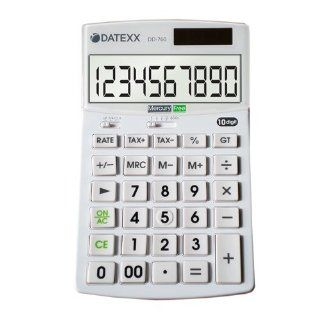 Datexx DD 760 Hybrid Power 12 Digit Desktop Calculator : Electronics