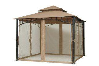 Madaga Gazebo Replacement Canopy  Outdoor Canopies  Patio, Lawn & Garden