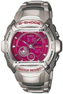 G Shock Ana digi World Time Pink Dial Men's watch #G 500FD 4A Casio Watches