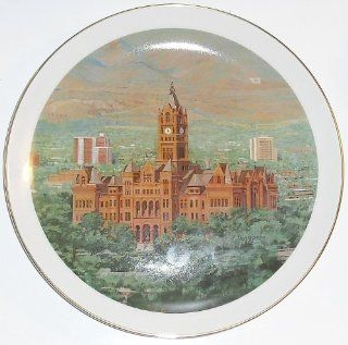 Limited Edition Utah Collection, Salt Lake City and County Building   Collector Plate  Commemorative Plates