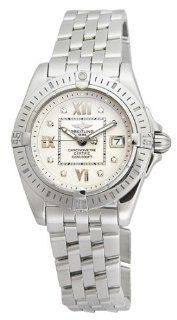 Breitling Women's A7135612 G5 780A Windrider Cockpit Lady Diamond Quartz Watch: Watches