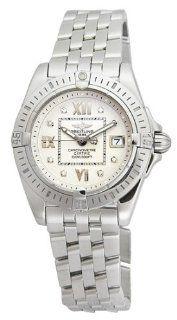 Breitling Women's A7135612 G5 780A Windrider Cockpit Lady Diamond Quartz Watch: Watches