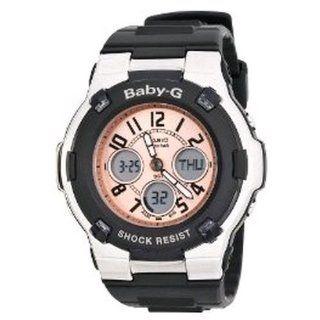 Casio Baby G Ladies Analog Digital Watch BGA110 1BDR: Casio: Watches