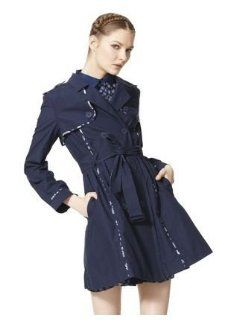 Jason Wu for Target Trench Coat in Blue   Extra Small (XS): Everything Else