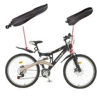SupperDeal Mountain Bike Bicycle Road Tyre Tire Front Rear Mudguard Fender Set Mud Guard : Sports & Outdoors