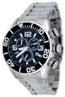 Adee Kaye #AK5434 M Men's Stainless Steel Sports Chronograph Watch Watches