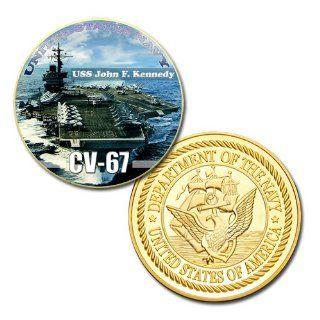 USS John F. Kennedy (CV 67) GP Challenge Coin
