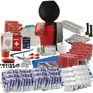 Emergency Zone Office Survival Kit for 20 Person : Camping First Aid Kits : Sports & Outdoors