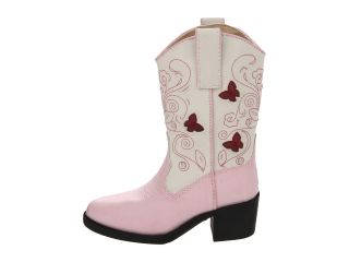 Roper Kids Western Lights Cowboy Boots (Toddler/Little Kid) Pink
