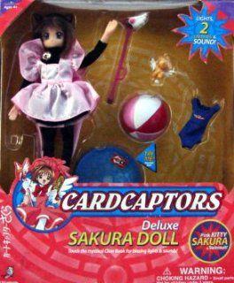 Deluxe Sakura Doll Pink Kitty/Swimsuit Playset Toys & Games