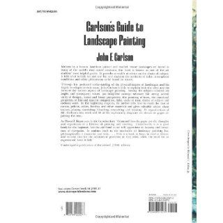 Carlson's Guide to Landscape Painting John F. Carlson 0971488507537 Books