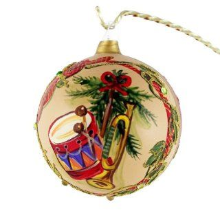 """Toys"" Collection. Hand Painted Christmas Ball No.4(Austria)   Christmas Ball Ornaments"