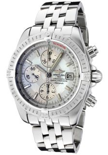 Breitling A1335611/A569  Watches,Mens Windrider Automatic/Mechanical Chronograph White MOP Dial Stainless Steel, Chronograph Breitling Mechanical Watches