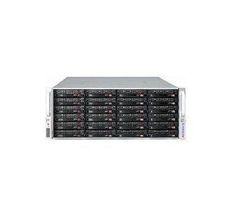 Supermicro SC847 E26 R1400UB CSE 847E26 R1400UB   Rack mountable   4U   extended ATX   SATA/SAS   hot swap   power supply 1400 Watt   black: Computers & Accessories