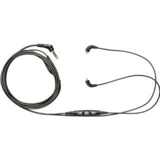 Shure SE215 K Earphones and CBL M +K Music Phone Cable with Remote + Mic Musical Instruments