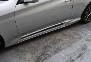 M&S Side Lip Skirt UNPAINTED Left Right 2 pc Set For 2013 Hyundai Genesis Coupe Automotive