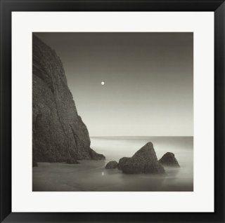 Shark Tooth Cliff by David Fokos Framed Art, Size 24.75 X 24.875   Prints