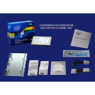 Intel 510 Series Solid State Drive 120 GB SATA 6 Gb/s 2.5 Inch   SSDSC2MH120A2K5 Electronics