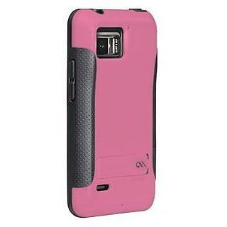 Case mate Pop! Case for Motorola DROID Bionic XT875, Pink / Gray: Cell Phones & Accessories