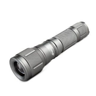 MXDL SA 881 Cree XM L T6 680lm 5 Mode White Zooming Flashlight   Grey (1 x 18650)   Basic Handheld Flashlights