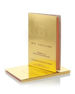 Mai Couture Vitamin C + Rejuvenate Oil Blotting Papier