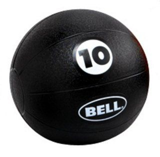 Bell Fitness Medicine Ball (Black 10 Pound)  Sports & Outdoors