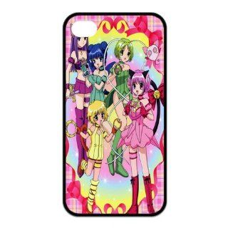 Mystic Zone Tokyo Mew Mew iPhone 4 Case for iPhone 4/4S Cover Japanese Cartoon Fits Case KEK1209: Cell Phones & Accessories