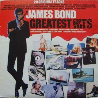 James Bond Greatest Hits 20 Original Tracks Vinyl LP Music