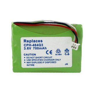 Toshiba DKT2304 CT Cordless Phone Battery 3.6 Volt, Ni MH 700mAh   Replacement For UNIDEN BT 930 Electronics