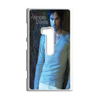 DIY Waterproof Protection Vampire Diaries Damon Salvatore Case Cover For Nokia Lumia 920 057 04 Cell Phones & Accessories