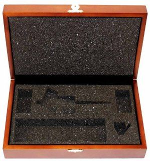 Paasche Deluxe Wood Case For H, SI, VL, TS And TG Airbrushes